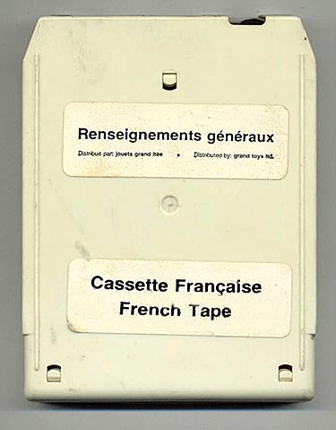French language General Information tape released for Mego 2-XL in Canada