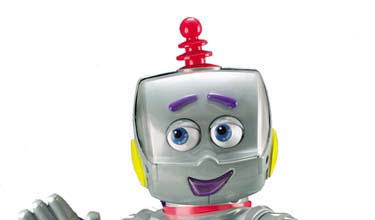 Hi!  I'm Kasey the Kinderbot!